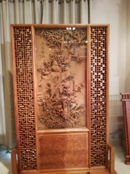 贵州木雕屏风